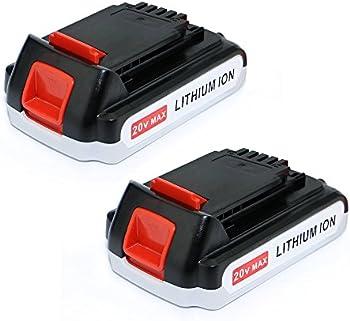2-Pk. EFLUKY 2.0Ah 20V Lithium-Ion Battery