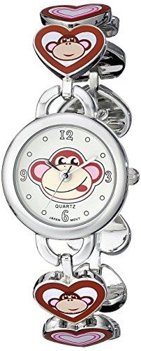 Frenzy Frenzy Kids' FR240 Monkey Novelty Analog Bracelet Watch