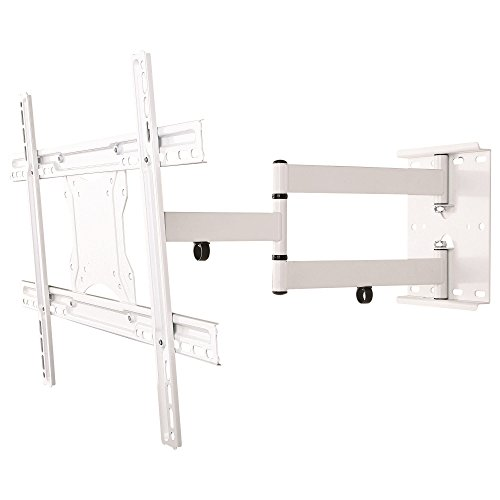 NEG-TV-Wandhalterung-ExTender-6012-schwenkbarneigbarausziehbar-bis-45kg-32-65-Zoll-wei