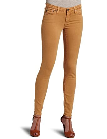 AG Adriano Goldschmied Women's Ankle Denim Leggings, Sulfur Copper, 31