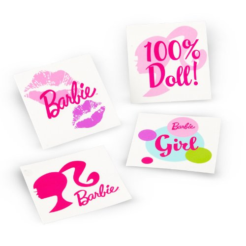 Barbie All Doll'd Up Tattoos (24 count)