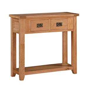 Buying Guide of  Stirling Oak Console Table
