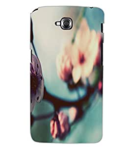 LG G PRO LITE FLOWER Back Cover by PRINTSWAG