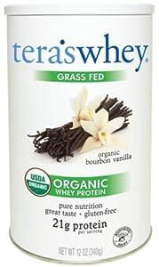 Tera's Whey Organic Weight Loss Products, Bourbon Vanilla, 12 Ounce