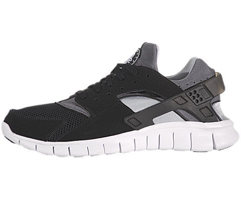 89aa08337c1b Nike Huarache Free 2012 Mens Running Shoes Black Black White Dark Grey  487654 012 11