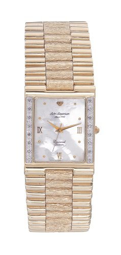 Jules Jurgensen Men's Gold-Tone Diamond Dress Watch #7884 - Buy Jules Jurgensen Men's Gold-Tone Diamond Dress Watch #7884 - Purchase Jules Jurgensen Men's Gold-Tone Diamond Dress Watch #7884 (Jules Jurgensen, Jewelry, Categories, Watches, Men's Watches, Dress Watches, Metal Banded)