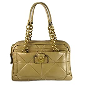 Marc Jacobs Handbags (Peanut or Camel) Leather Patchwork Quilted Ines Bag