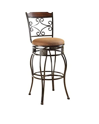 Acme Furniture Bar Chair with Swivel, Black