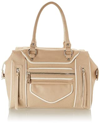 Jessica Simpson Courtney Top Handle Bag,Mushroom,One Size