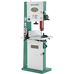 Grizzly G0513X2B 2 HP Extreme-Series Bandsaw with Cast Iron Trunnion and Brake, 17-Inch