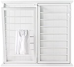 Amazon Com Madison Fold Down Wall Mounted Laundry Drying