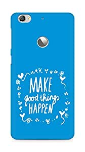 AMEZ make good things happen Back Cover For Letv Le 1S