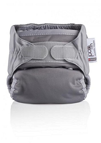 Close Pop-In + Bamboo Single Nappy (30 Months, Grey)
