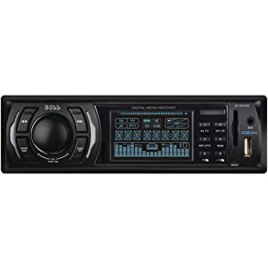 2. Boss 612UA MP3-Compatible Digital Media AM/FM Receiver. Precio: $37.07