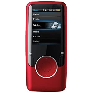 Coby Video MP3 Player with FM, Flash Memory MP620