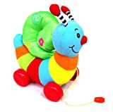 Morrisons - Colourful, Soft, PULL ALONG SNAIL 12+ Months