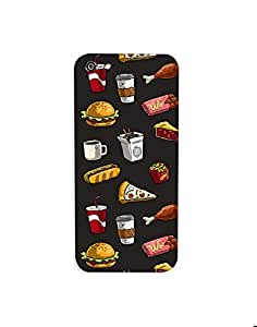 Apple Iphone 5 /5s Fast-Food-pattern-01 Mobile Case (Limited Time Offers,Please Check the Details Below)