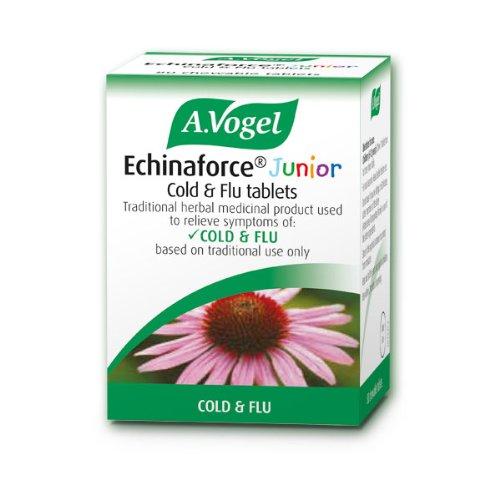 A.Vogel Echinaforce Junior Cold & Flu 40 Chewable Tablets