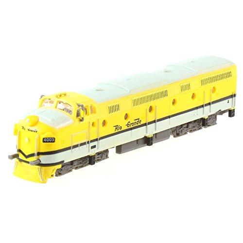 Train miniature Locomotive Denver & Rio Grande.Krauss-Maffei C.C USA 1/160
