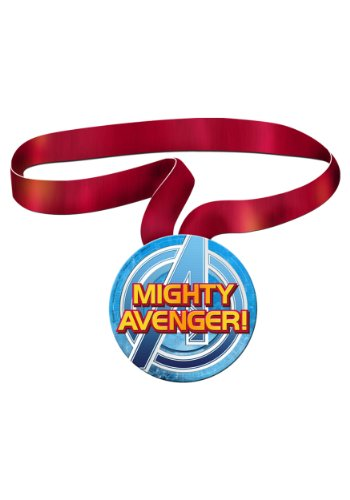 Marvel Avengers Assemble Guest of Honor Medal - Party Supplies - 1