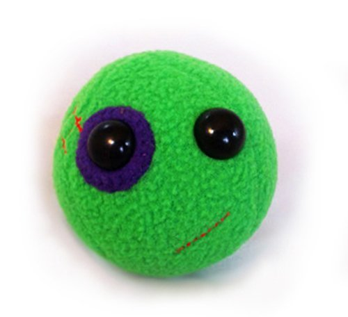 Flaky Friends: Black Eyed Pea Plush Toy - 1