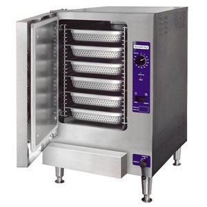 208V Single Phase Cleveland 22Cet6.1 Steamchef 6 Six Pan Electric Countertop Steamer