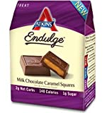 Atkins Endulge Treat Squares Milk Chocolate Caramel -- 5 Bars