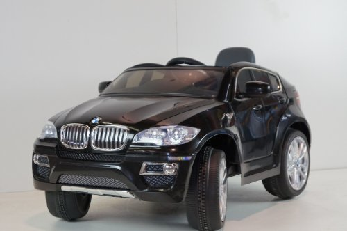 Licensed Bmw X-6 New Power Ride On Toy Electric Car With Mp3 Connection And Working Doors ,Remote Control. 2 Motors,2 Battery, 2 Speed