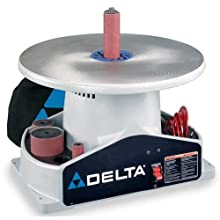 DELTA SA350K Shopmaster Boss 1/4-Horsepower 1,724 RPM Bench top Spindle Sander with Complete Spindle Sander Set