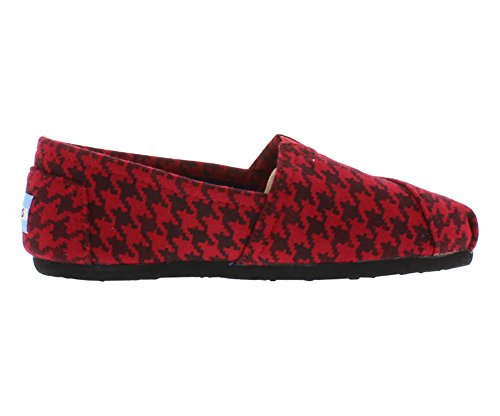 TOMS Women's Classic Houndstooth Slip-On Shoe toms drag
