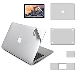 Full Body Sticker for 11-inch MacBook Air, LENTION Protective Vinyl Decal Skin for Apple Mac Book Laptop, Include Top Bottom Trackpad Skin Palm Guard Screen Protector Film