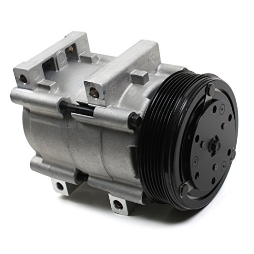 NEW ACC58132 AC A/C Compressor with 6 Grooves Clutch for FORD MAZDA MERCURY 2.9L 3.0L 4.0L 1990-09 (Ac Compressor 2001 Ford Ranger compare prices)