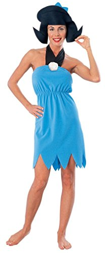 Popcandy Betty Rubble Adult Costume Flintstones Costume Cave Woman Costume 15745 (Betty Rubble Makeup)
