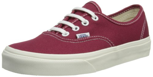 Vans Unisex-Adult Authentic Low-Top Trainers VVOEC7N Vintage/Tibetan Red/Marshmallow 4 UK, 36.5 EU
