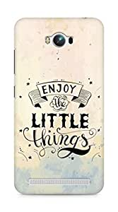 AMEZ enjoy the little things 2 Back Cover For Asus Zenfone Max ZC550KL