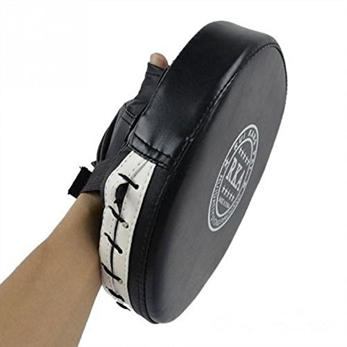 Icetek Sports Punch Mitt Boxing Training Target Focus Pad Gloves, Black (Boxing Training Target compare prices)