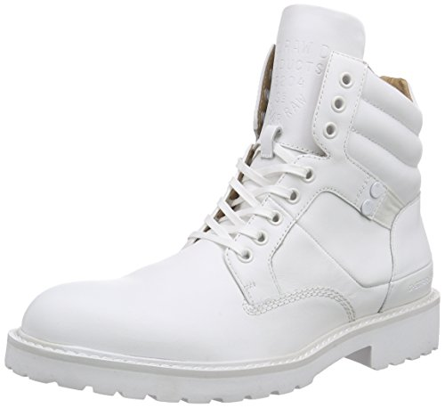 G-Star Raw Uomo, Sneakers, Tanker Boot, Bianco (Bright White-1322), 42
