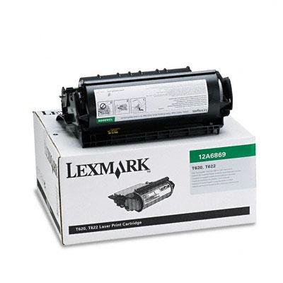 Original Lexmark (12A6869) 30000 High Yield Black Toner Cartridge - Retail