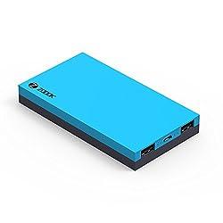 Zoook ZP-PBS10 Premium Ultra-Fast Polymer 10000mAH Power Bank (Blue/Grey)