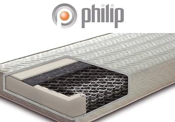 Philip Classic Soft Komfort Bonnell-Federkern-Matratze, Größe:80 x 200 cm;Härtegrad:H2