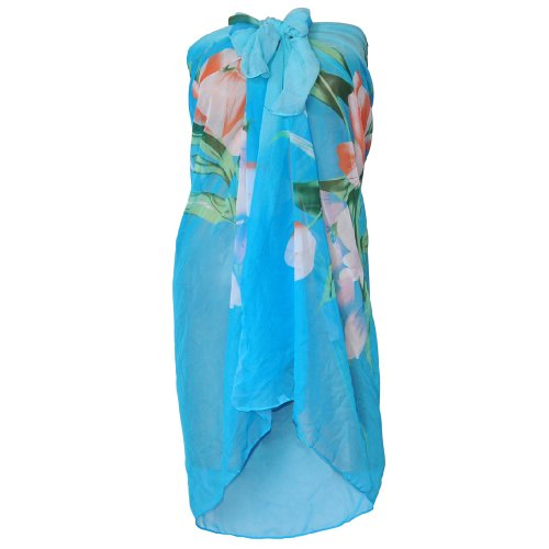 WMA Ladies Beach Sarong Dress Wrap Swimwear Beach Cover Up Scarf Sun Dresses