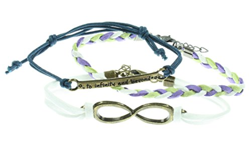 [Disney Toy Story Cord Bracelet 3 Pack] (Women Buzz Lightyear Costumes)