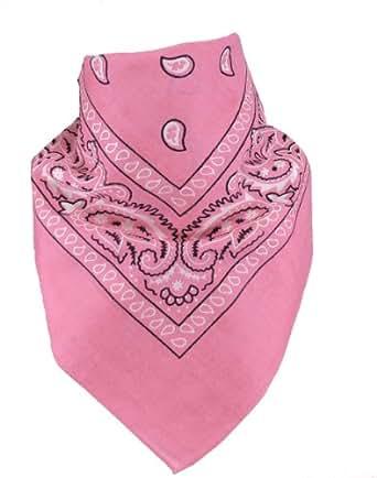 Bandana in 20 verschiedenen Farben Rosa