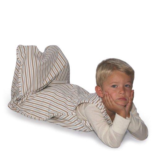 Merino Kids Go Go Bag Baby Sleeping Bag, Toddler 2-4 years, Winter-weight, Sandshell