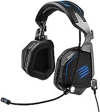 Mad Catz F.R.E.Q. TE Binaurale Diadema Negro auricular con micrófono - Auriculares con micrófono (Consola de juegos, Binaurale, Diadema, Negro, Alámbrico, 3.5 mm (1/8