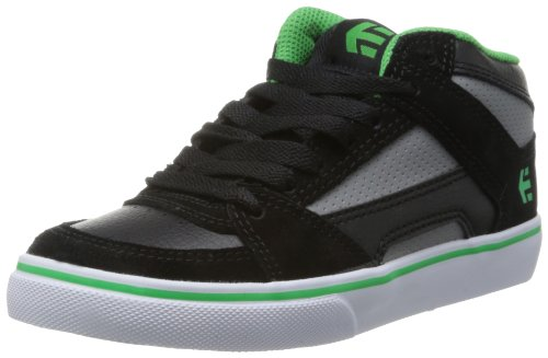 Etnies Unisex-Child Kids RVM Vulc Trainers 4301000083 Black/Grey/Black 1 UK, 34 EU, 2 US