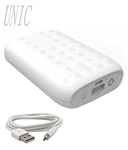 UNIC-8000mAh-USB-Powerbank-Portable-Charger-for-Mobile-UN33-White