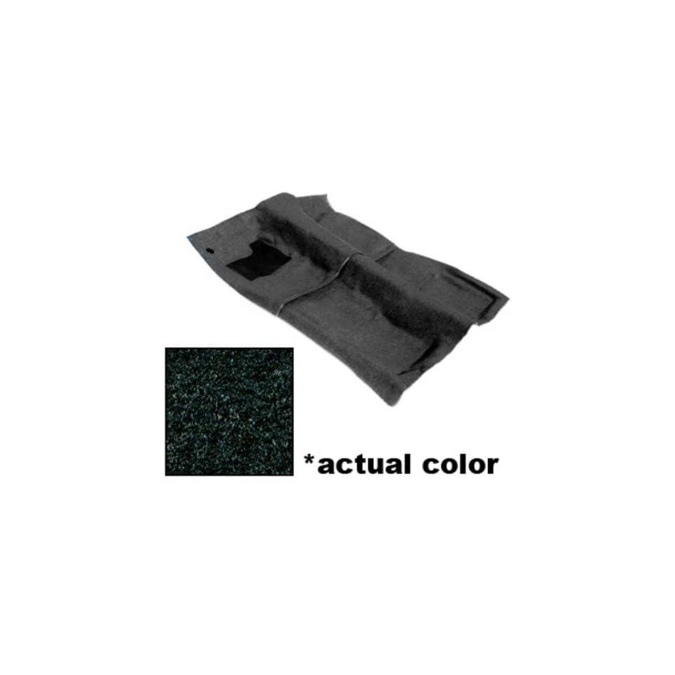 Chevy Camaro, Pontiac Firebird Carpet Kit   Black, Cut Pile Fiber, Rear Cargo Area 82 88 89 90 91 92