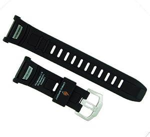 Casio 16/25mm Black Resin