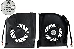 New CPU Cooling Fan for HP Pavilion dv6500 dv6500t CTO dv6500z CTO dv6600 dv6700 dv6700t CTO dv6700z CTO dv6800 dv6900 series laptop. (Only fit Intel CPU)